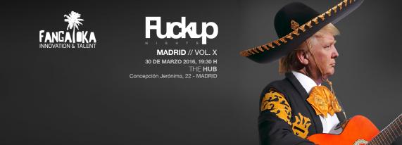 fuckup nights madrid volumen X