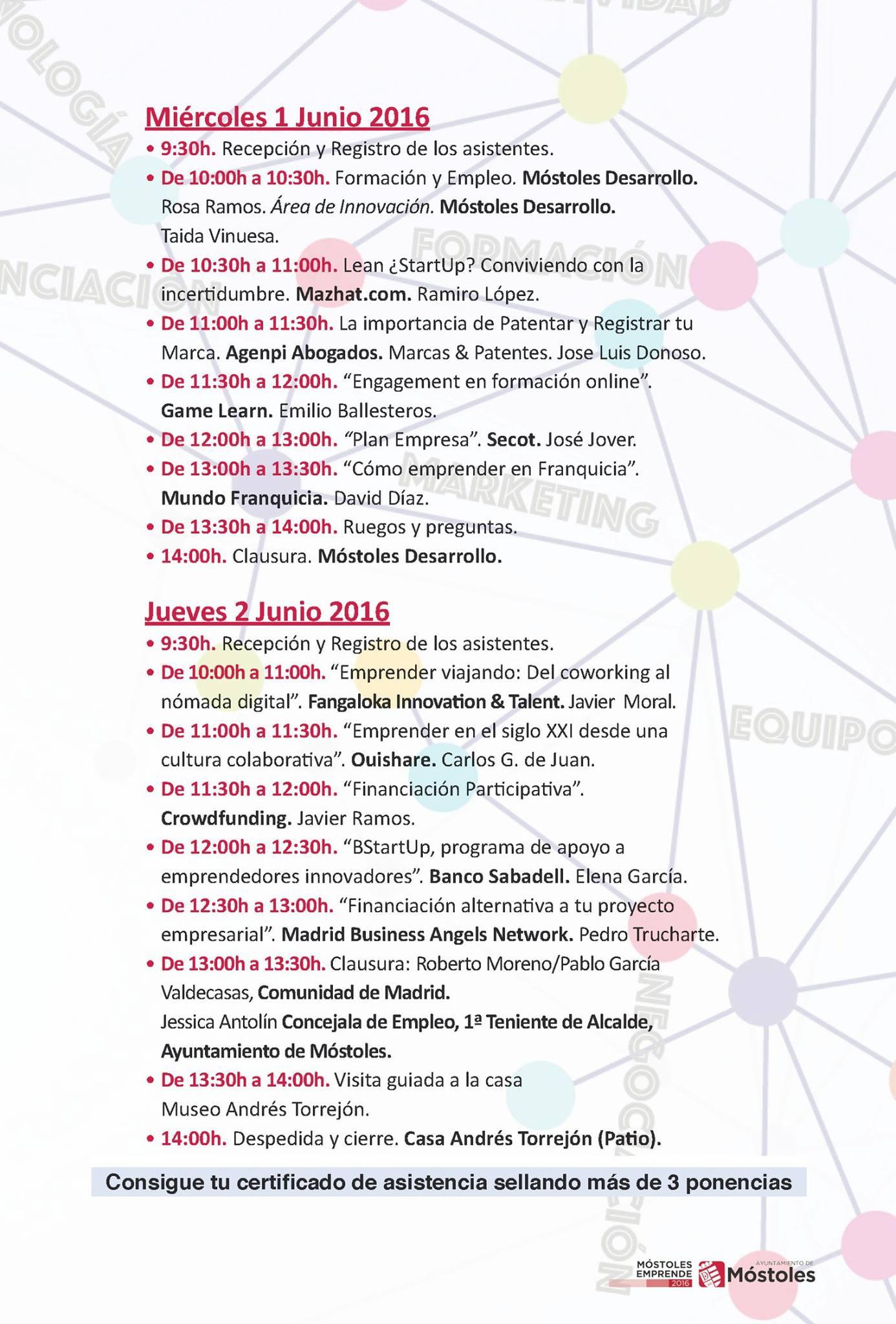 PROGRAMA 1 Y 2 DE JUNIO