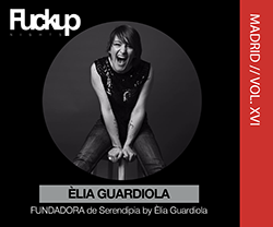 Èlia Guardiola FuckUP Nights Madrid