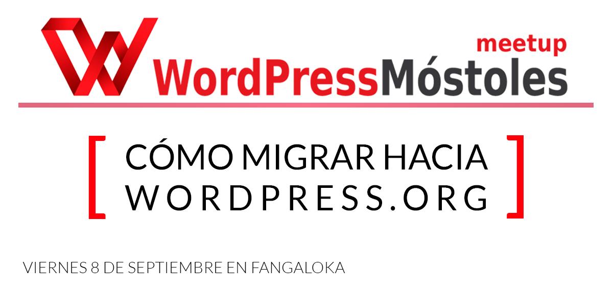 MeetupWordPressMostoles