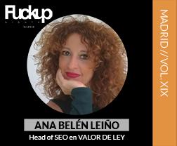 Ana Belén Leyño Fuckup Nights