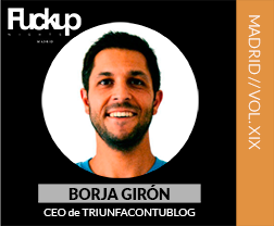 Borja Girón Fuckup Nights