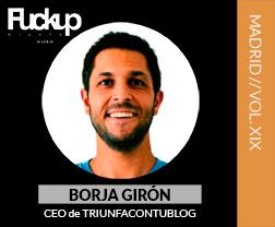 Borja Girón Fuckup Nights