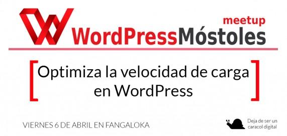 MeetupWordPressMostoles 6 de abril 2018