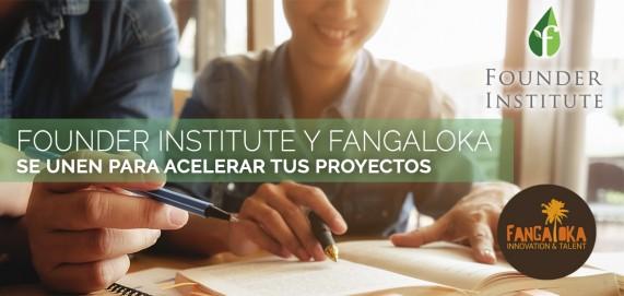 Acuerdo Founder Institute y Fangaloka