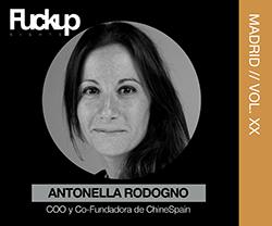 Antonella Rodogno fuckup Nights Madrid