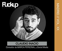 Claudio ignacio Fuckup Nights Madrid