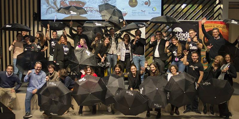 El éxito del fracaso XII paraguas