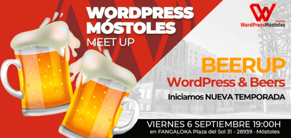 Meetup WordPress - Beerup