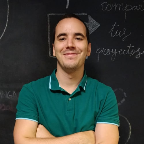 Jesús Perez coworker fangaloka